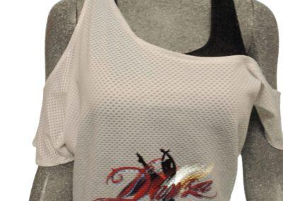 Blusa de danza Gym