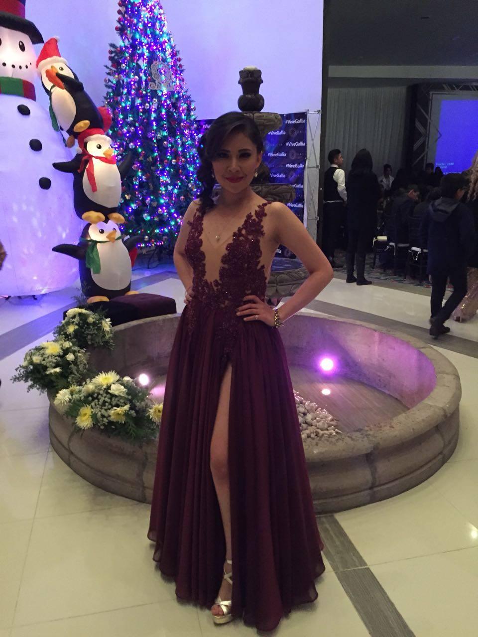 vestido de noche Pachuca | Irma Caroline 7717091016