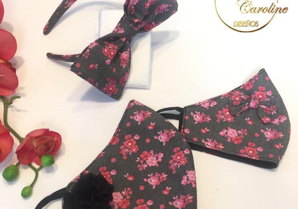 Cubrebocas y scrunchies de moda en Pachuca 7717091016