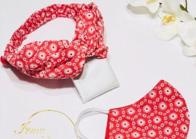 kit hairband cubreboca $170-